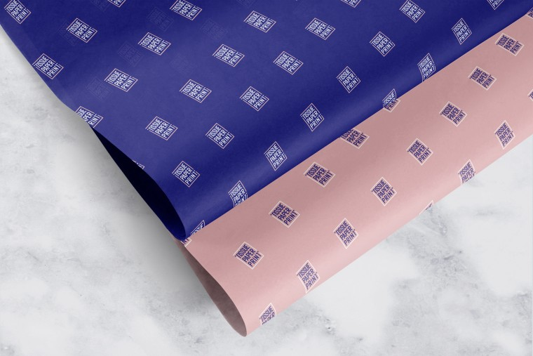 Tissue Paper Print - Custom Tissue Paper