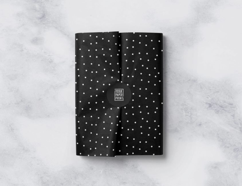 Tissue-Paper-Print---Ready-Designs---Little-Stars-on-Black-Tissue-Paper_m2