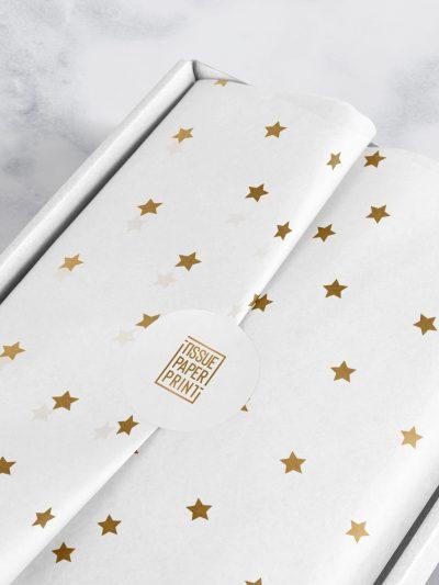 Tissue-Paper-Print---Ready-Designs---Gold-Stars-on-White_Mockup-2