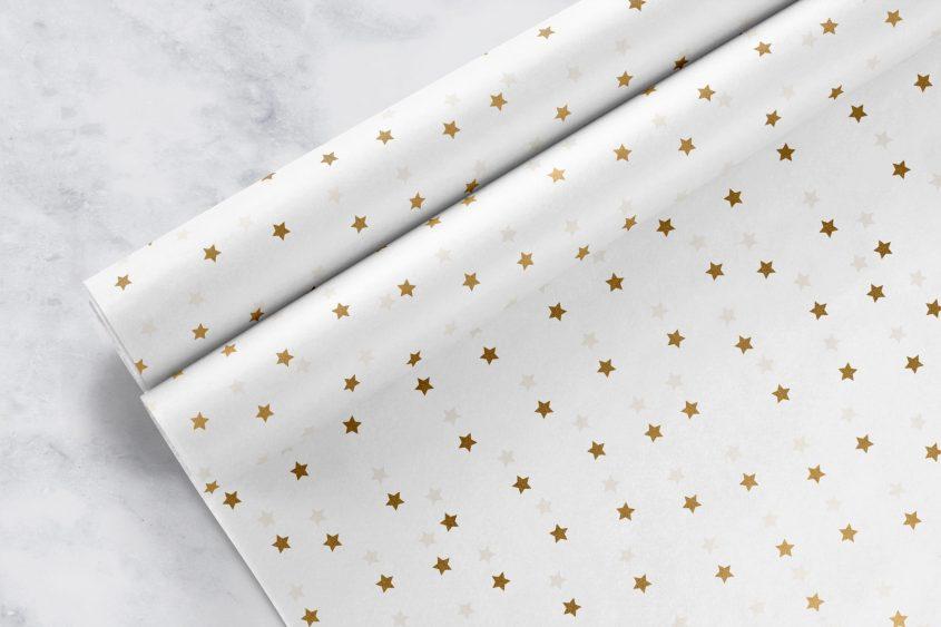 Tissue-Paper-Print---Ready-Designs---Gold-Stars-on-White_Mockup-3